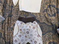 Утепленные кофта и ползунки — Детская одежда и обувь в Омске