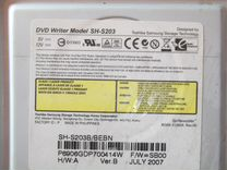 Привод DVD-RW SATA SH-S203