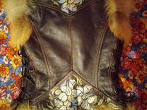 Жилет 42/44 кожа лиса — Одежда, обувь, аксессуары в Санкт-Петербурге