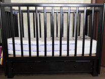 Кровать детская Кубаночка-3 с ящиком, маятник унив