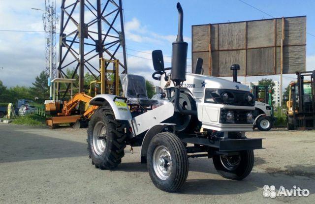 Мини-трактор Скаут Т-220B, 4х2, 18 л.с  88007074451 купить 2