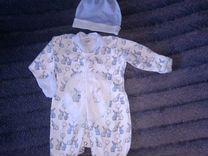 Комбинезон бодик для мальчика р.50-56 — Детская одежда и обувь в Омске