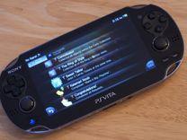 Sony PS Vita в отличном состоянии + карта оригинал