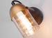 Настенный светильник Eurosvet 20122/1 черный/золот
