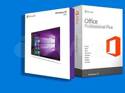 Windows 10 Pro + Office 2016 ProPlus