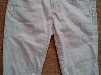 Шорты джинсовые белые, 27 р-р, для девочки/девушки