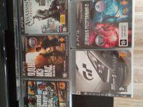Sony PS 3 + 5 игр