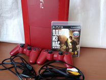 Sony Playstation 3 SuperSlim - Red