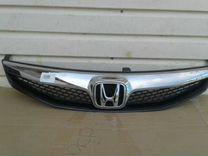 Решетка радиатора Хонда Цивик 4Д рестайлинг
