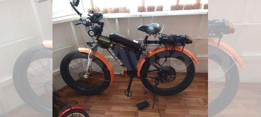 Электровелосипед фэт байк mavelis купить в Красноярском крае | Хобби и отдых | Авито