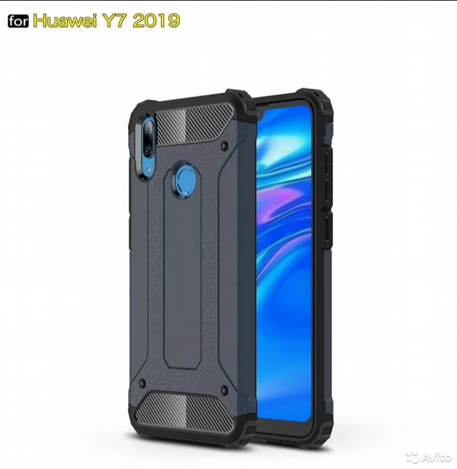 Противоударный чехол Huawei y7 2019