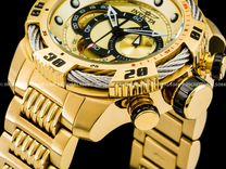 Brand Invicta Speedway 18k Gold