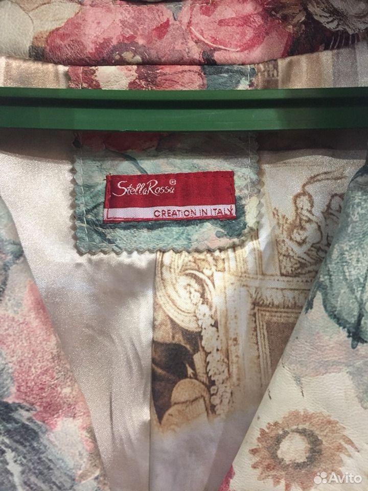 Пиджак- френч кожаный  89103406550 купить 2