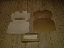 Самосборные коробки из гладкого крафт картона