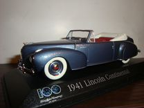 Lincoln continental 1941 1/43 minichamps