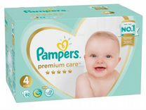 Pampers подгузники Premium Care 4 (9-14 кг) 82 шт
