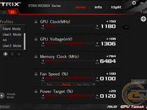 Игровая видеокарта asus R9 380x strix oc 4Gb