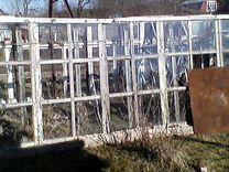 Рамы со стеклом под теплицу