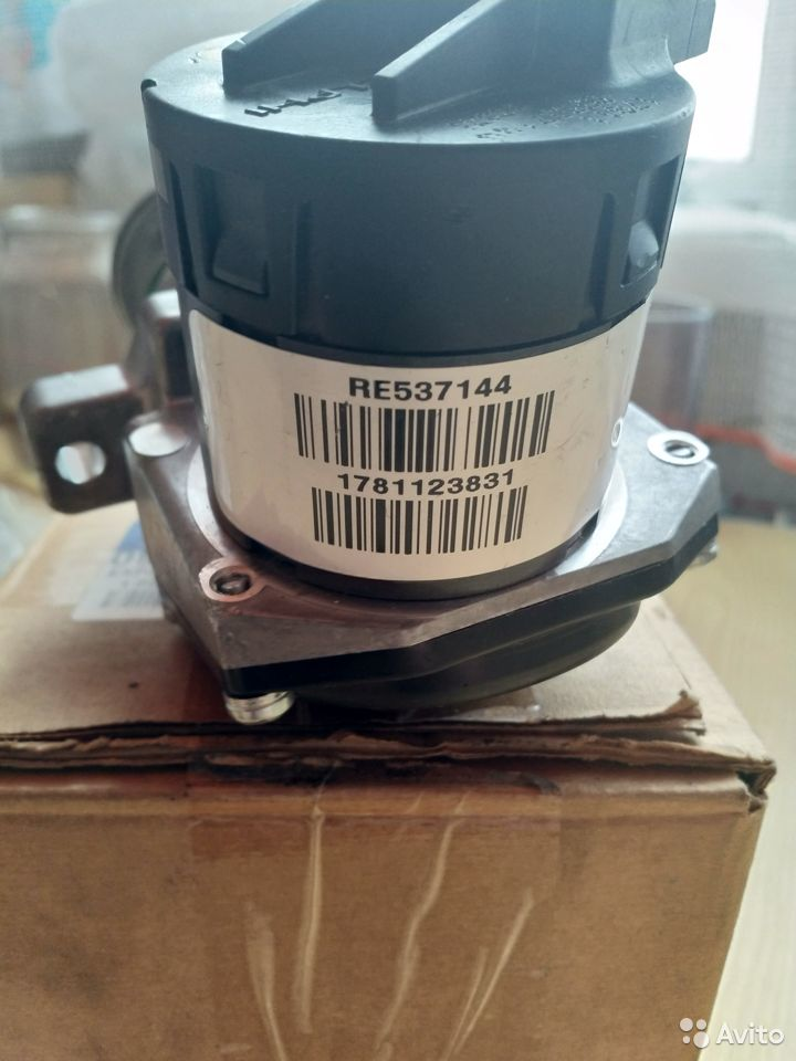 Клапан егр (EGR) Delphi re537144